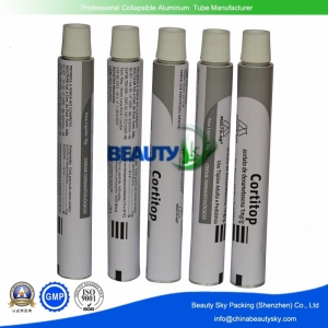 Pharmaceutical packaging tube