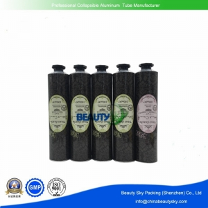 Dia. 38mm 40mm Open tip cosmetics packaging collapsible tubes
