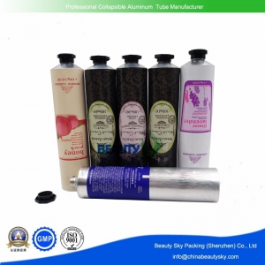 Hand cream packaging tube Open tip aluminum tube
