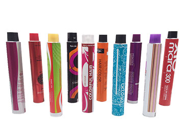 Hair Color Cream Packaging Tubes
